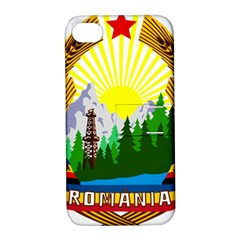 National Emblem Of Romania, 1965 1989  Apple Iphone 4/4s Hardshell Case With Stand