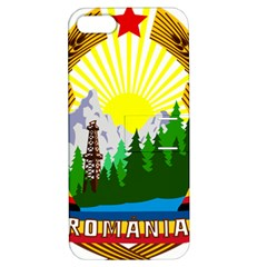 National Emblem Of Romania, 1965 1989  Apple Iphone 5 Hardshell Case With Stand