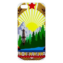 National Emblem Of Romania, 1965 1989  Apple Iphone 5 Premium Hardshell Case