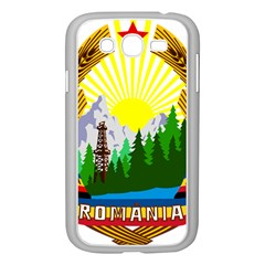 National Emblem Of Romania, 1965 1989  Samsung Galaxy Grand Duos I9082 Case (white)