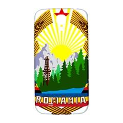 National Emblem Of Romania, 1965 1989  Samsung Galaxy S4 I9500/i9505  Hardshell Back Case