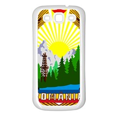 National Emblem Of Romania, 1965 1989  Samsung Galaxy S3 Back Case (white)