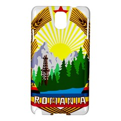 National Emblem Of Romania, 1965 1989  Samsung Galaxy Note 3 N9005 Hardshell Case