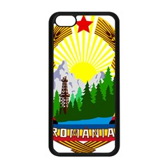 National Emblem Of Romania, 1965 1989  Apple Iphone 5c Seamless Case (black)