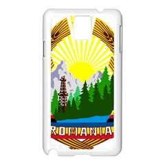 National Emblem Of Romania, 1965 1989  Samsung Galaxy Note 3 N9005 Case (white)