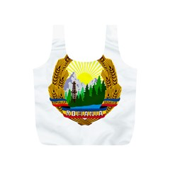 National Emblem Of Romania, 1965 1989  Full Print Recycle Bags (s)