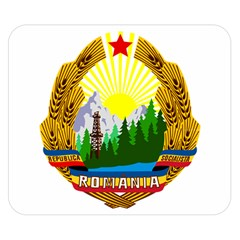National Emblem Of Romania, 1965 1989  Double Sided Flano Blanket (small)