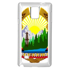 National Emblem Of Romania, 1965 1989  Samsung Galaxy Note 4 Case (white)