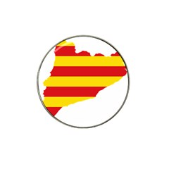 Flag Map Of Catalonia Hat Clip Ball Marker (4 Pack)