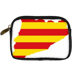 Flag Map Of Catalonia Digital Camera Cases