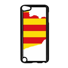 Flag Map Of Catalonia Apple Ipod Touch 5 Case (black)