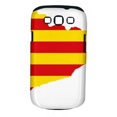 Flag Map Of Catalonia Samsung Galaxy S Iii Classic Hardshell Case (pc+silicone)