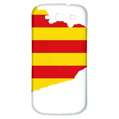 Flag Map Of Catalonia Samsung Galaxy S3 S Iii Classic Hardshell Back Case
