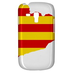 Flag Map Of Catalonia Samsung Galaxy S3 Mini I8190 Hardshell Case