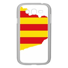 Flag Map Of Catalonia Samsung Galaxy Grand Duos I9082 Case (white)