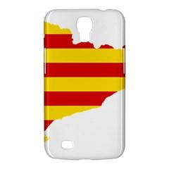 Flag Map Of Catalonia Samsung Galaxy Mega 6 3  I9200 Hardshell Case