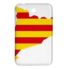 Flag Map Of Catalonia Samsung Galaxy Tab 3 (7 ) P3200 Hardshell Case