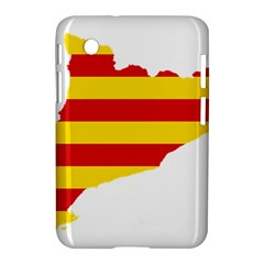 Flag Map Of Catalonia Samsung Galaxy Tab 2 (7 ) P3100 Hardshell Case