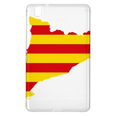 Flag Map Of Catalonia Samsung Galaxy Tab Pro 8 4 Hardshell Case