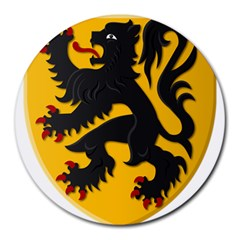 Flanders Coat Of Arms  Round Mousepads