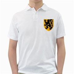 Flanders Coat Of Arms  Golf Shirts