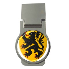Flanders Coat Of Arms  Money Clips (round)