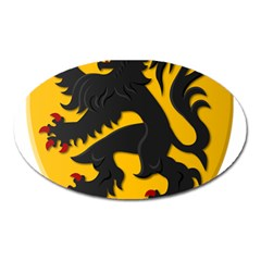 Flanders Coat Of Arms  Oval Magnet