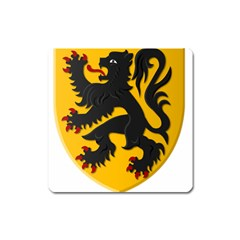 Flanders Coat Of Arms  Square Magnet
