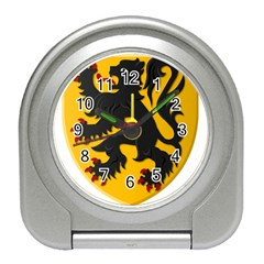 Flanders Coat Of Arms  Travel Alarm Clocks