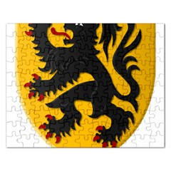 Flanders Coat Of Arms  Rectangular Jigsaw Puzzl