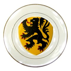 Flanders Coat Of Arms  Porcelain Plates