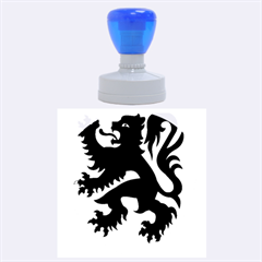 Flanders Coat Of Arms  Rubber Round Stamps (large)