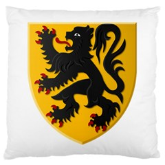 Flanders Coat Of Arms  Large Cushion Case (two Sides)