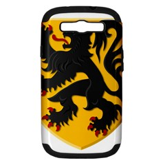 Flanders Coat Of Arms  Samsung Galaxy S Iii Hardshell Case (pc+silicone)