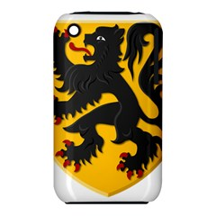 Flanders Coat Of Arms  Apple Iphone 3g/3gs Hardshell Case (pc+silicone)