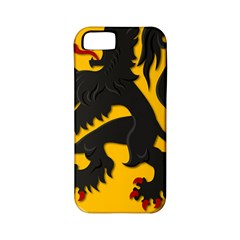 Flanders Coat Of Arms  Apple Iphone 5 Classic Hardshell Case (pc+silicone)