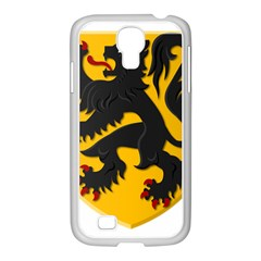 Flanders Coat Of Arms  Samsung Galaxy S4 I9500/ I9505 Case (white)