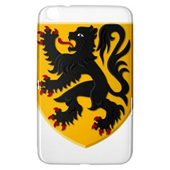 Flanders Coat Of Arms  Samsung Galaxy Tab 3 (8 ) T3100 Hardshell Case