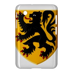 Flanders Coat Of Arms  Samsung Galaxy Tab 2 (7 ) P3100 Hardshell Case