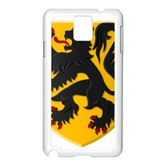 Flanders Coat Of Arms  Samsung Galaxy Note 3 N9005 Case (white)