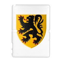 Flanders Coat Of Arms  Samsung Galaxy Note 10 1 (p600) Hardshell Case