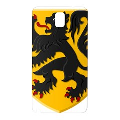 Flanders Coat Of Arms  Samsung Galaxy Note 3 N9005 Hardshell Back Case