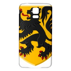 Flanders Coat Of Arms  Samsung Galaxy S5 Back Case (white)