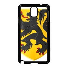 Flanders Coat Of Arms  Samsung Galaxy Note 3 Neo Hardshell Case (black)