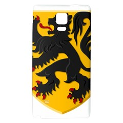 Flanders Coat Of Arms  Galaxy Note 4 Back Case