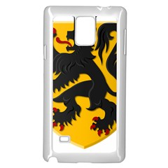 Flanders Coat Of Arms  Samsung Galaxy Note 4 Case (white)