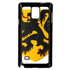 Flanders Coat Of Arms  Samsung Galaxy Note 4 Case (black)