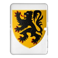 Flanders Coat Of Arms  Samsung Galaxy Tab 4 (10 1 ) Hardshell Case