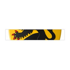 Flanders Coat of Arms  Flano Scarf (Mini)