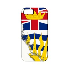 Flag Map Of British Columbia Apple Iphone 5 Classic Hardshell Case (pc+silicone)